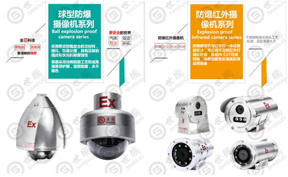 世国科技,防爆摄像头,星光级低照度防爆摄像机,防爆视频监控一体化摄像机
